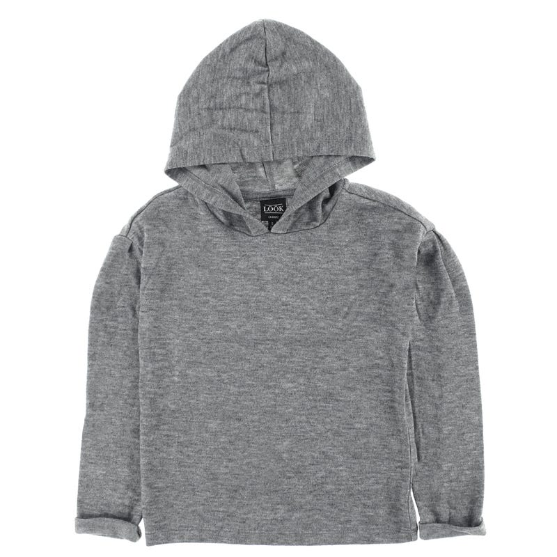 Charm Hooded Long Sleeves T-shirt 7-14y