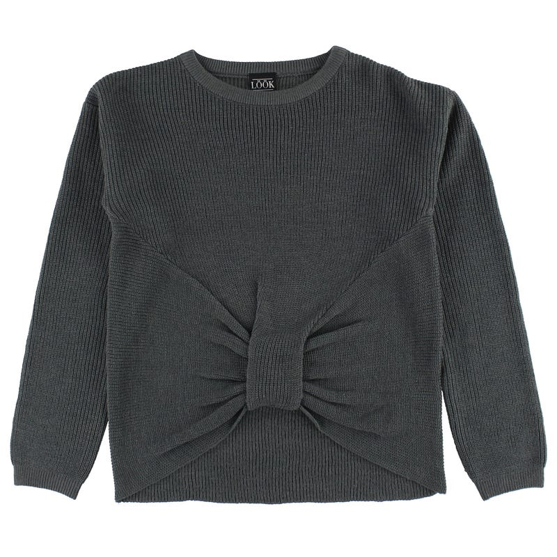 Charm Knot Sweater 7-14y