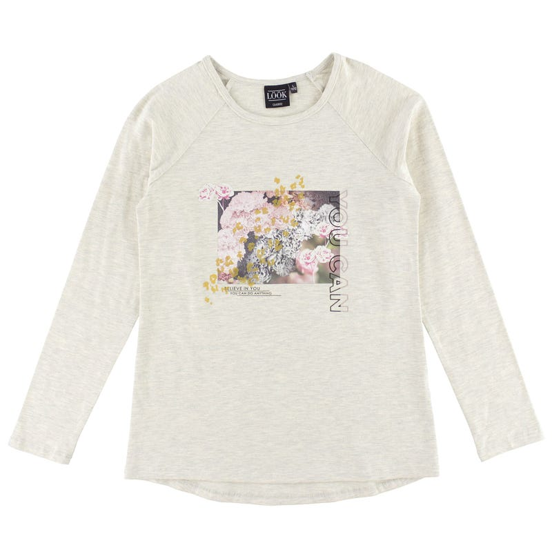 T-Shirt Long Cosy Cool 7-14ans