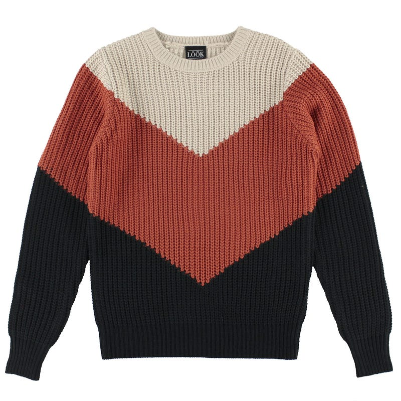 Pull Tricolore Cosy Cool 7-14ans