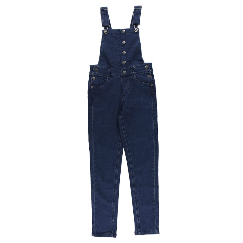 Cosy Cool Denim Overall 7-14y