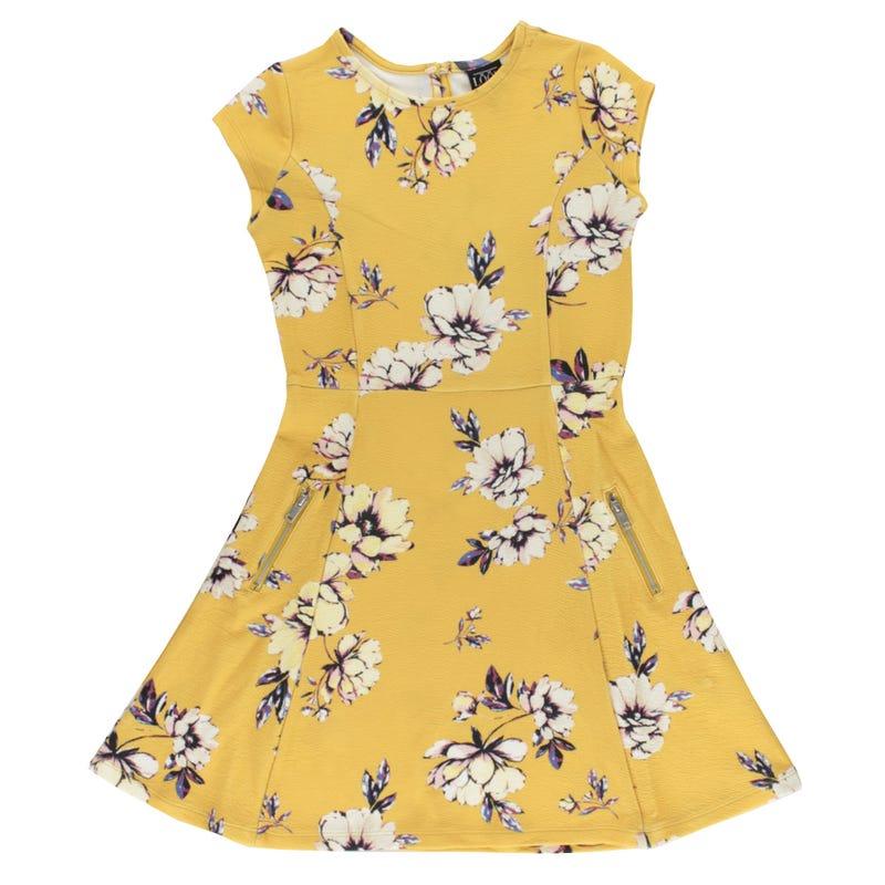 Cosy Cool Fleurs Dress 7-14y