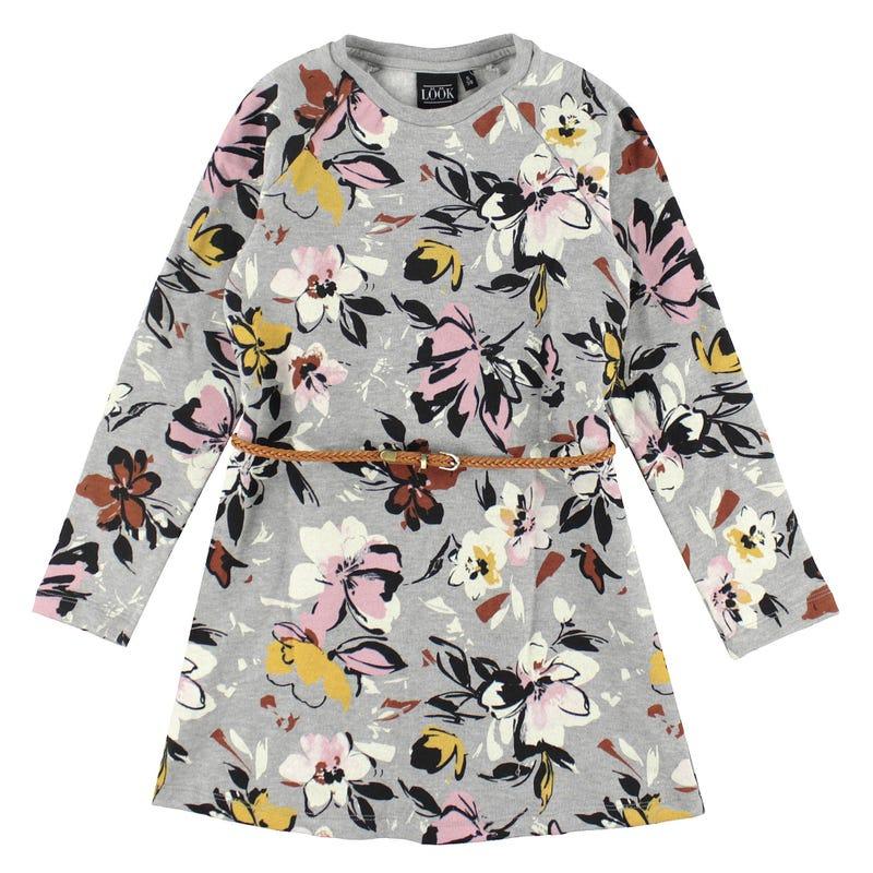 Cosy Cool Fleece Dress 7-14y