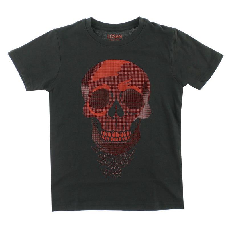 T-shirt Skull 8-16ans