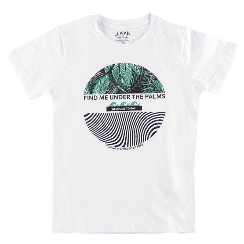 T-shirt Under The Palms 8-16ans