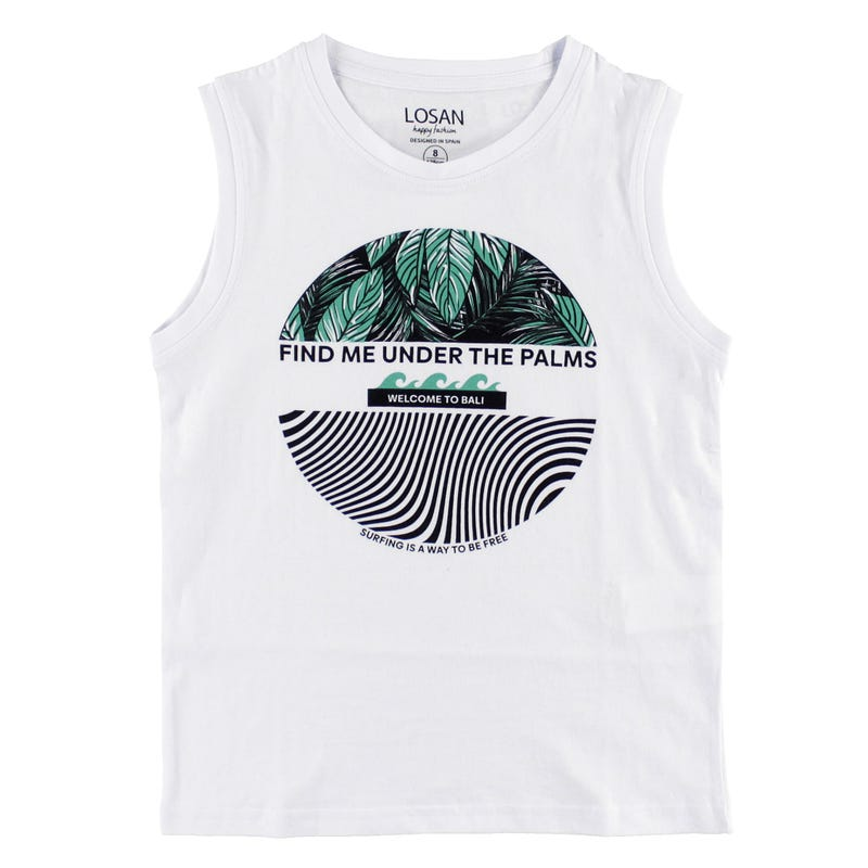 Camisole Under The Palms 8-16ans