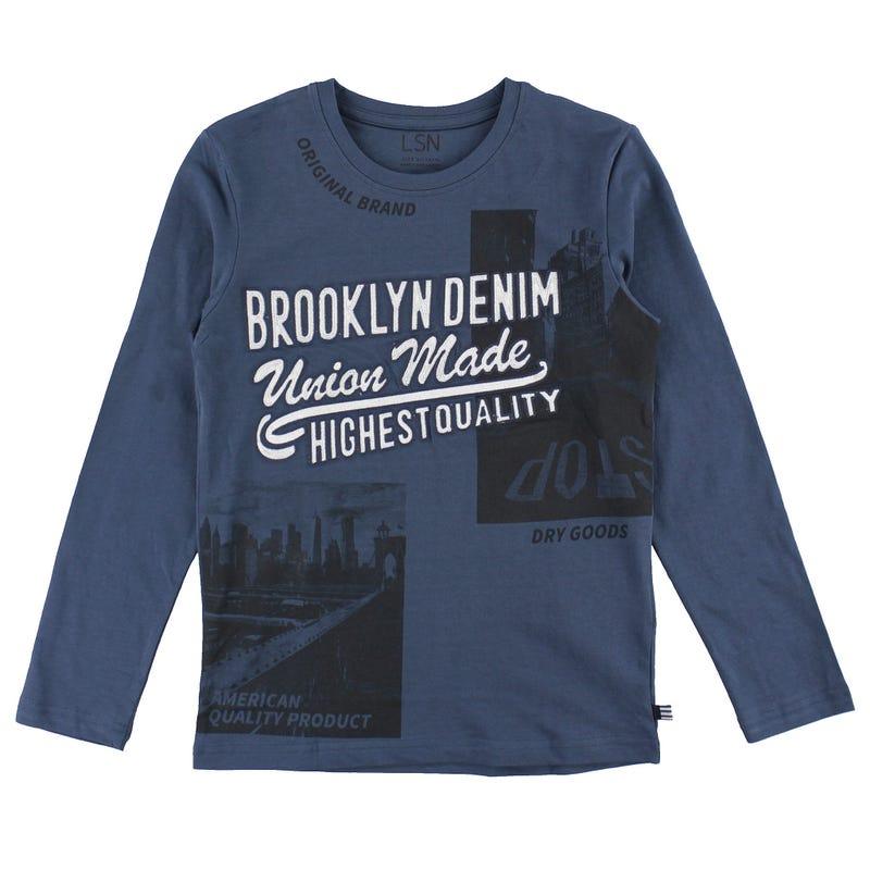T-shirt Brooklyn Denim 8-14ans