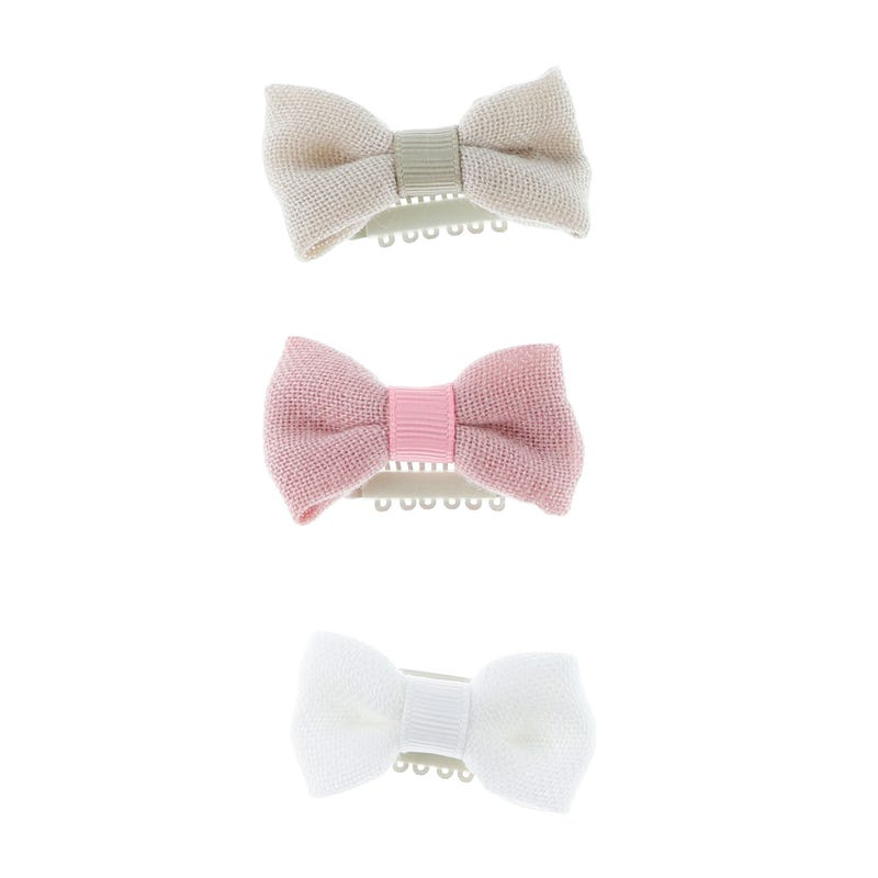Hair Bow Clips 3-Pack