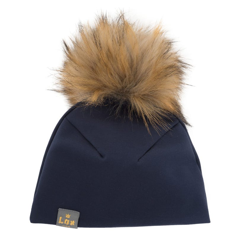 3seasons Beanie Pdr Navy 1-10y