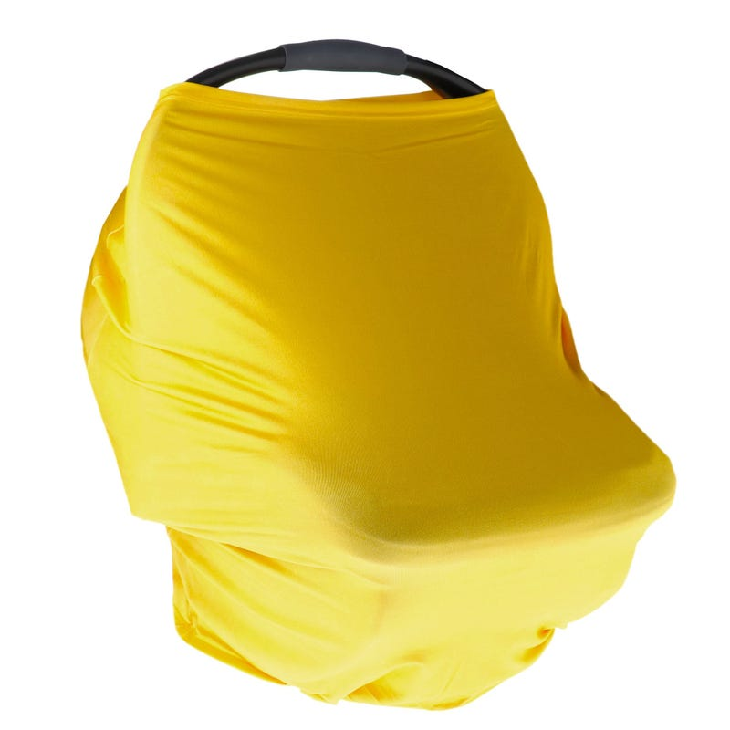 3 in 1 Car Seat Cover - Yellow
