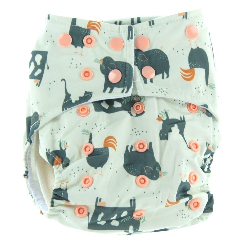 Cloth Diaper 10-35lb ECO - Farm
