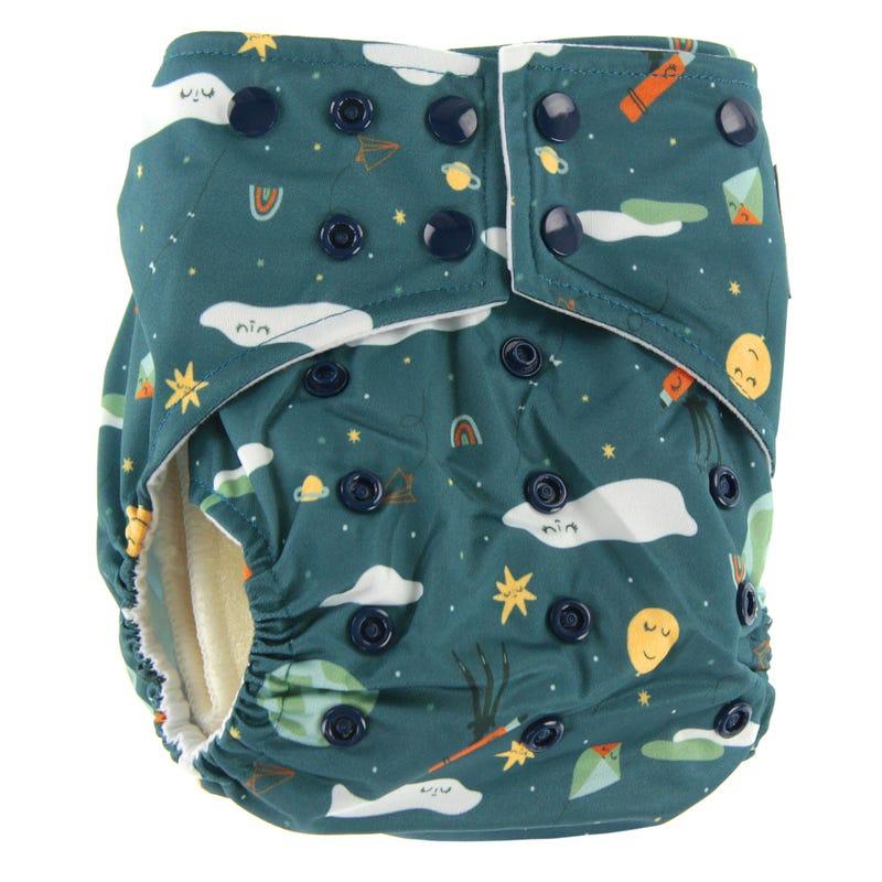 Cloth Diaper 10-35lb ECO - Universe
