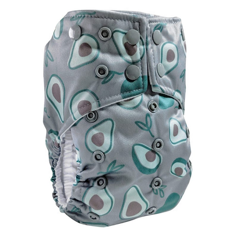 Cloth Diaper 10-35lb - Avocado