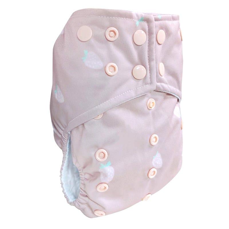 Cloth Diaper 10-35lb - Strawberry