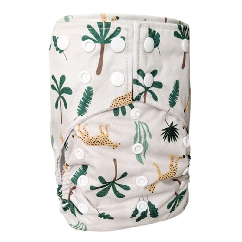 Cloth Diaper 10-35lb - Leopard