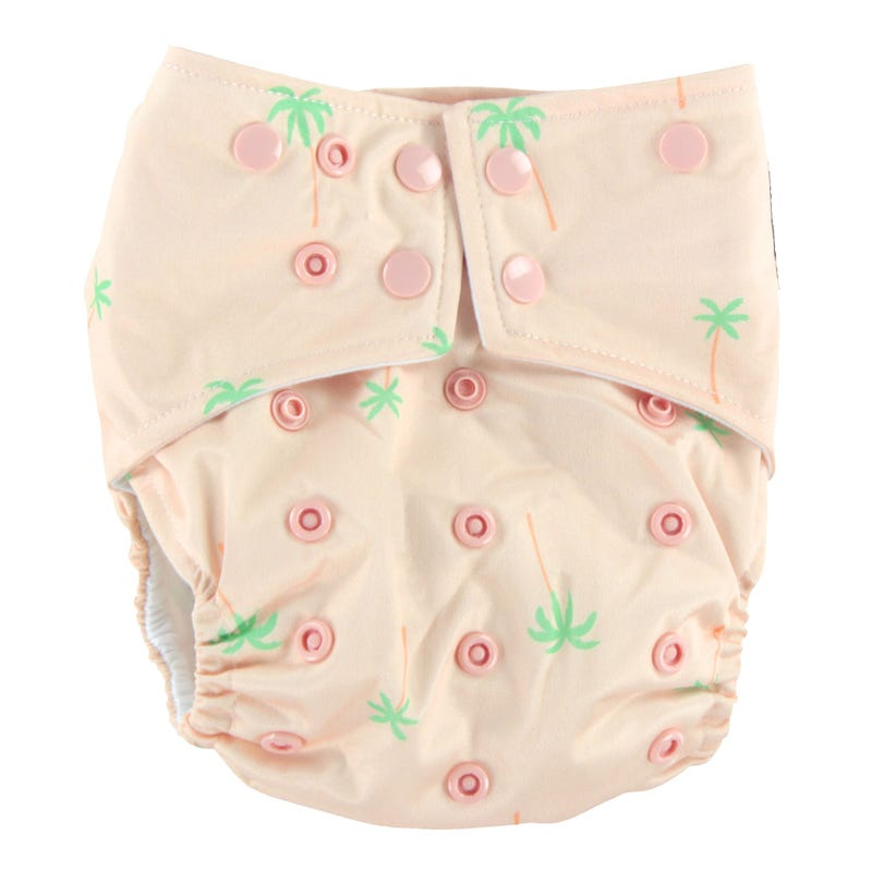 Cloth Diaper 10-35lb - Palm Tree