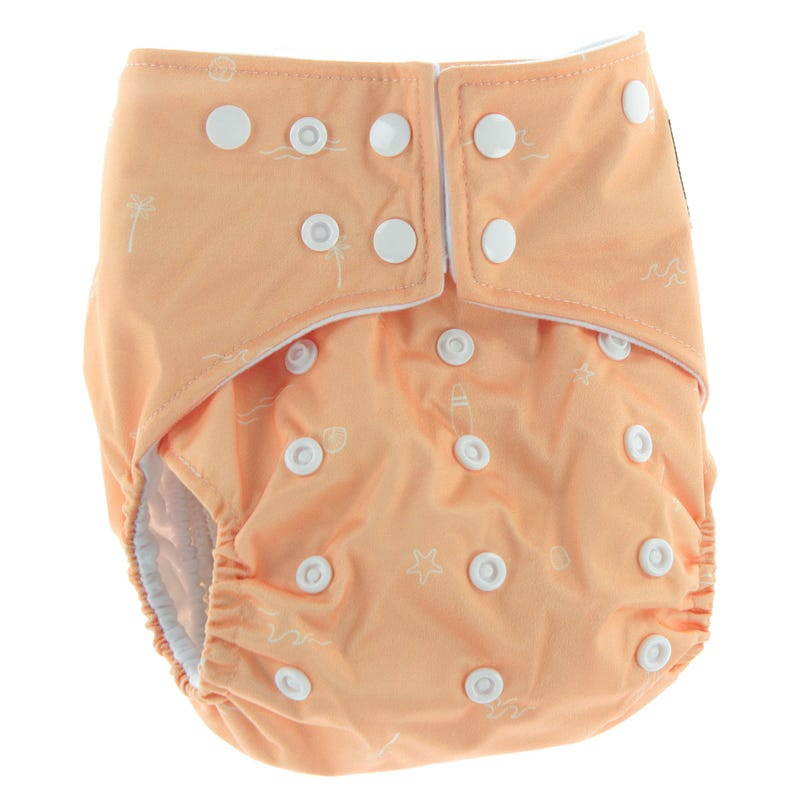 Cloth Diaper 10-35lb - Beach