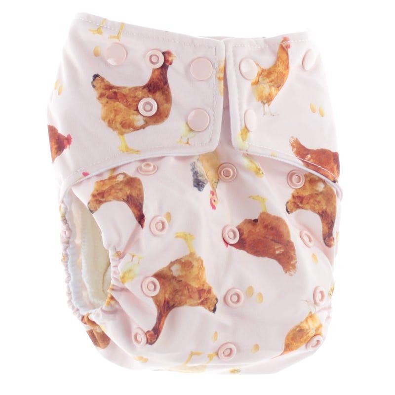 Cloth Diaper 10-35lb - Chicken