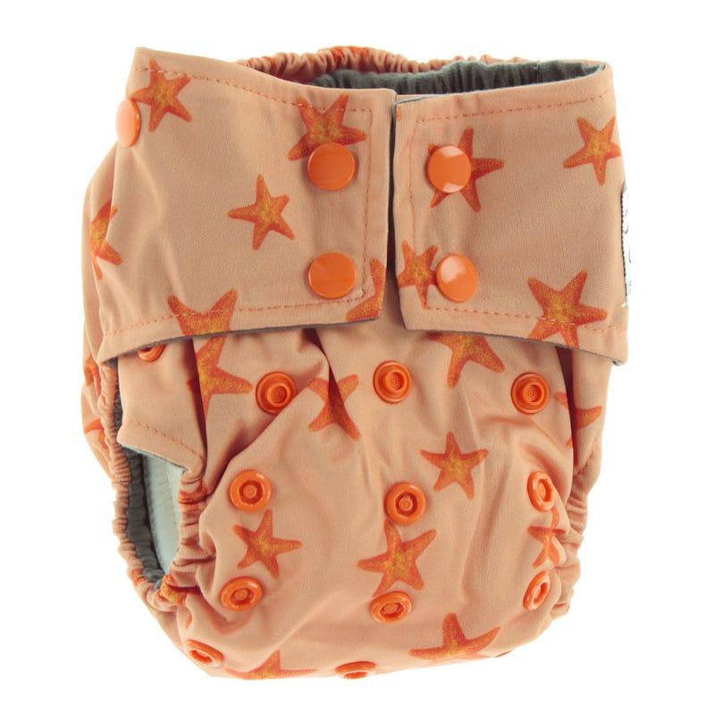 Cloth Diaper 7-15lb - Stars