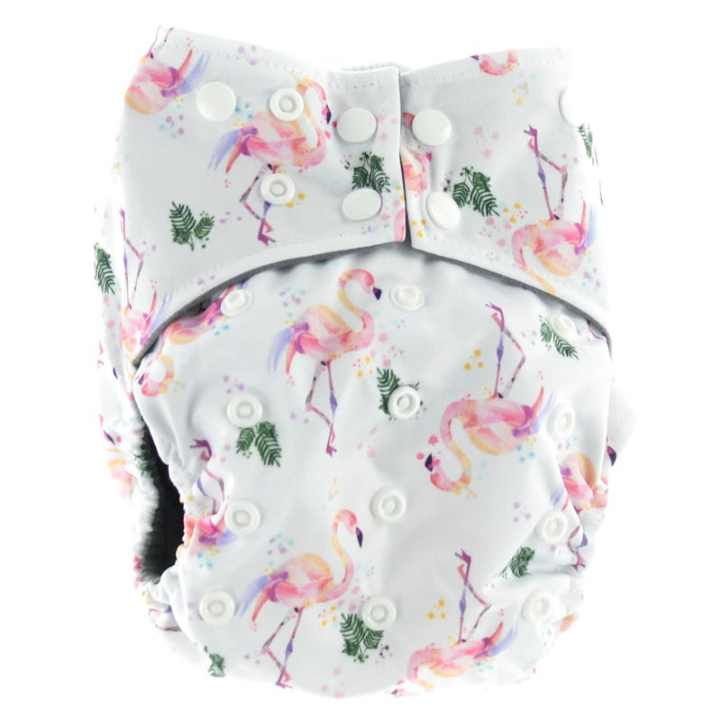 Flamingo All-in-1 Cloth Diaper