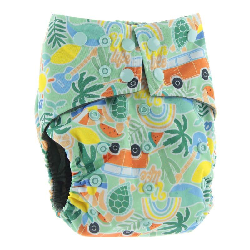 All-in-1 Cloth Diaper 10-35lb - Hippy