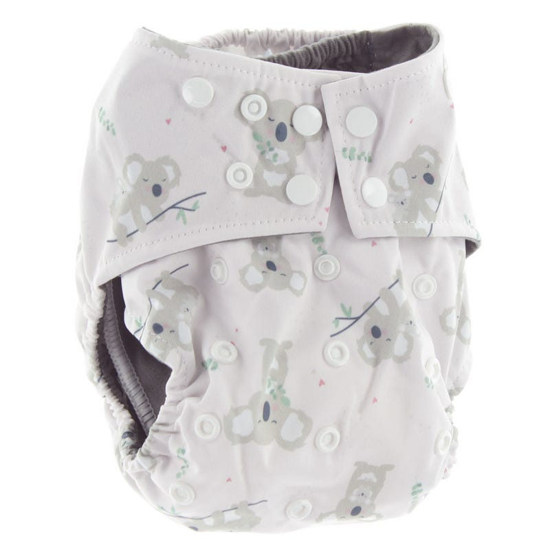 All-in-1 Cloth Diaper 10-35lb - Koala