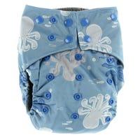All-in-1 Cloth Diaper 10-35lb - Sea