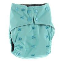 All-in-1 Cloth Diaper 10-35lb - Aqua