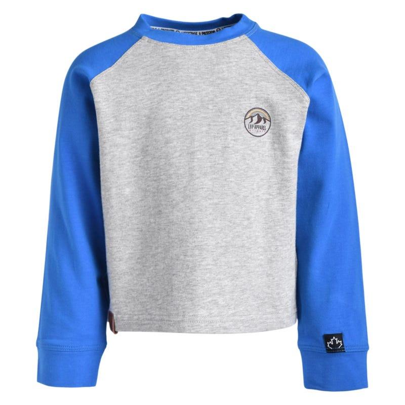 T-Shirt Raglan Columbus 2-8ans