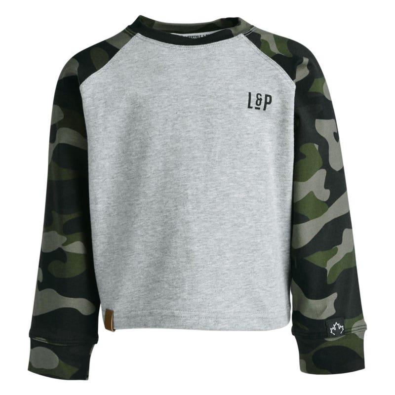T-Shirt Camo Raglan Langley2-8
