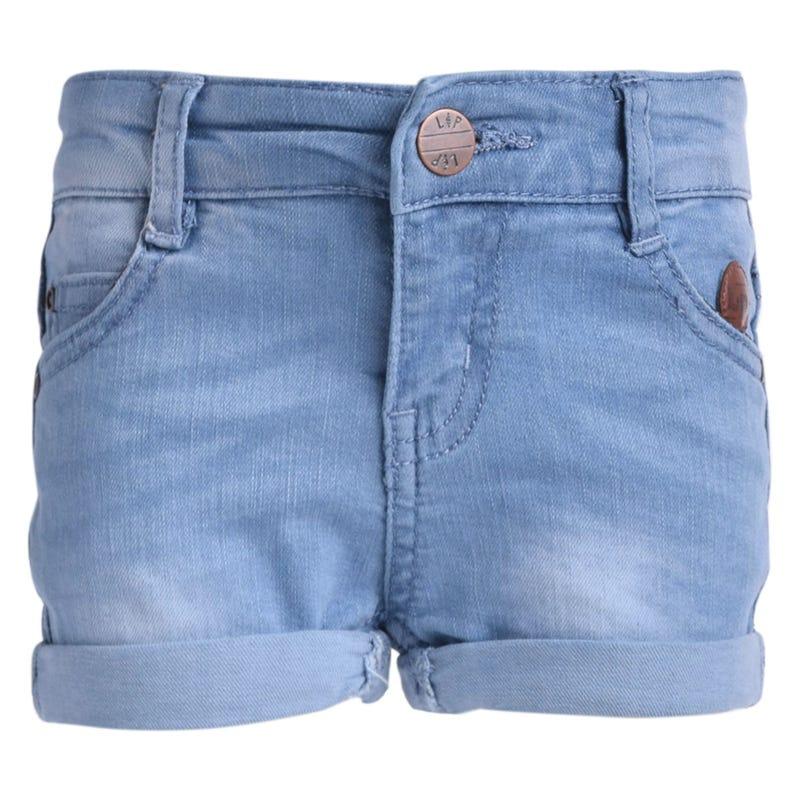 Short Jeans Fille 3-7ans
