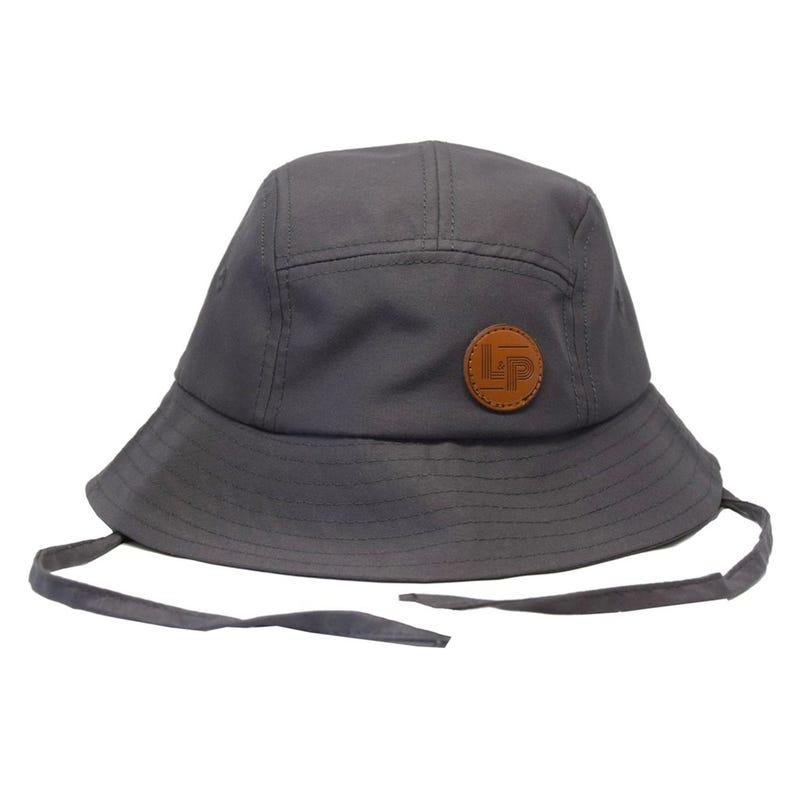 Sydney Street Hat 0-24m - Charcoal