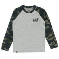 T-Shirt Raglan Buffalo 6-24m