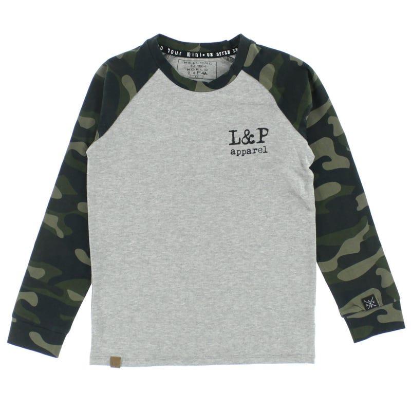 Buffalo Raglan T-Shirt 6-24m