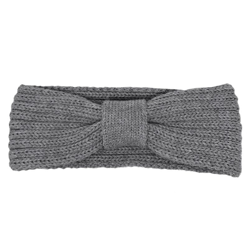 Bow Knit Headband 6m-8y
