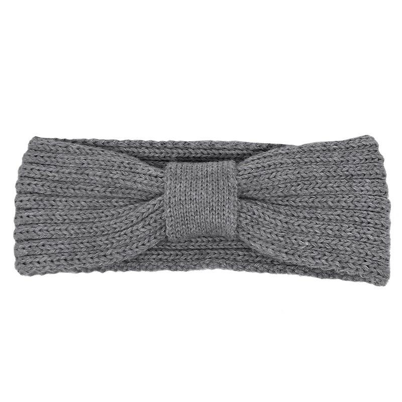 Bow Knit Headband 6m-8y