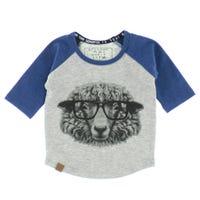 T-Shirt Raglan Mouton 6-24mois