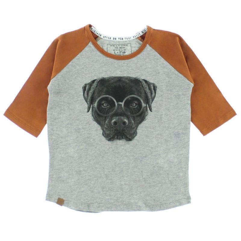 T-Shirt Raglan Rottweiler 2-6ans