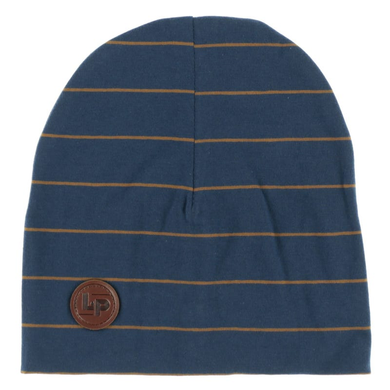 Boston Striped Beanie 0-24m
