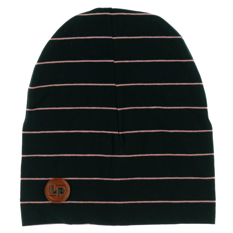 Boston Striped Beanie 8-16