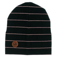 Boston Striped Beanie 0-24m