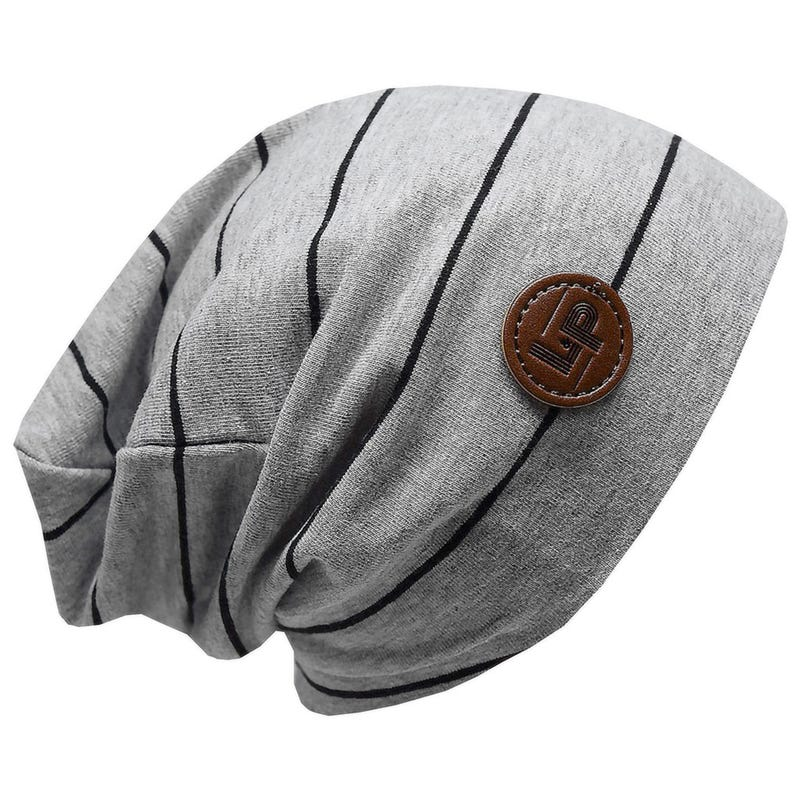 Striped Boston Beanie V4 0-24m