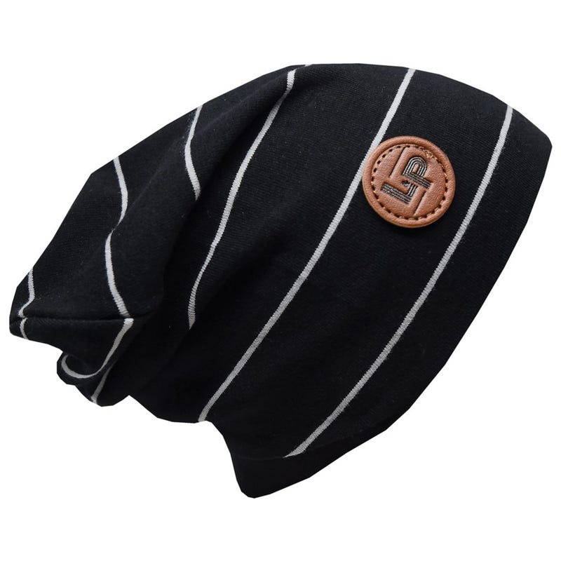 Striped Boston Beanie 2-8
