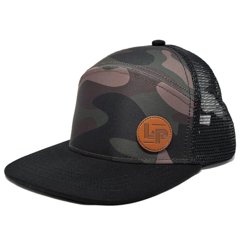 Brooklyn Snapback Cap 6-24m - Camo