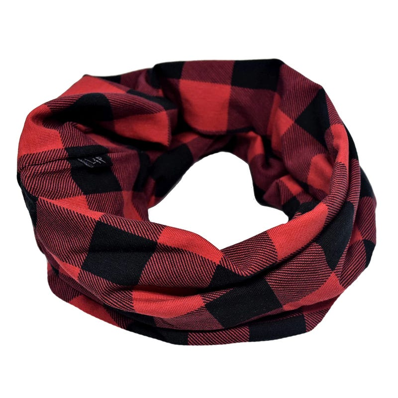 PLAID INFINITY SCARF 0-5