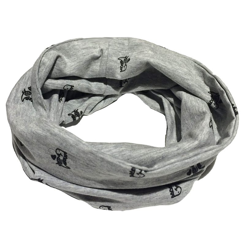 Infinity Scarf 5-8y - Dino
