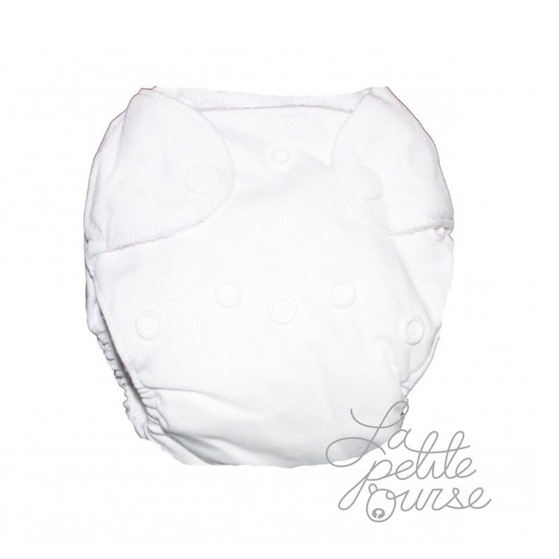 Newborn Cloth Diaper 5-10lbs - White