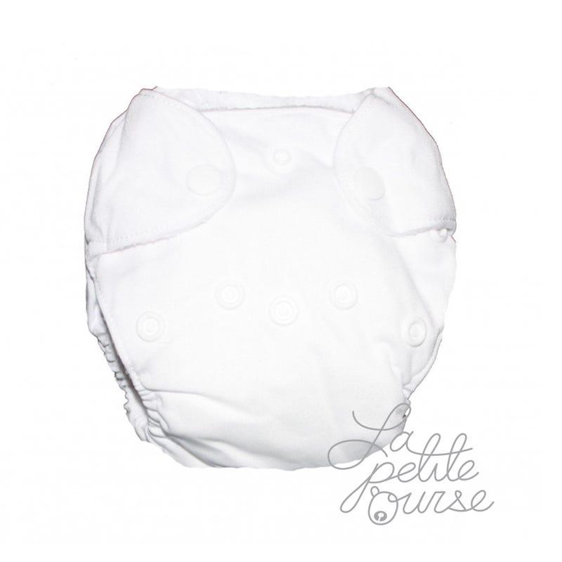 Newborn Cloth Diaper 5-10lbs - White