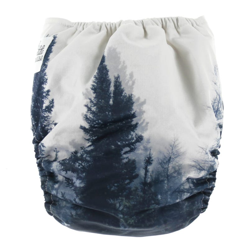 Cloth Diaper 10-35lbs - Walking in the Forest