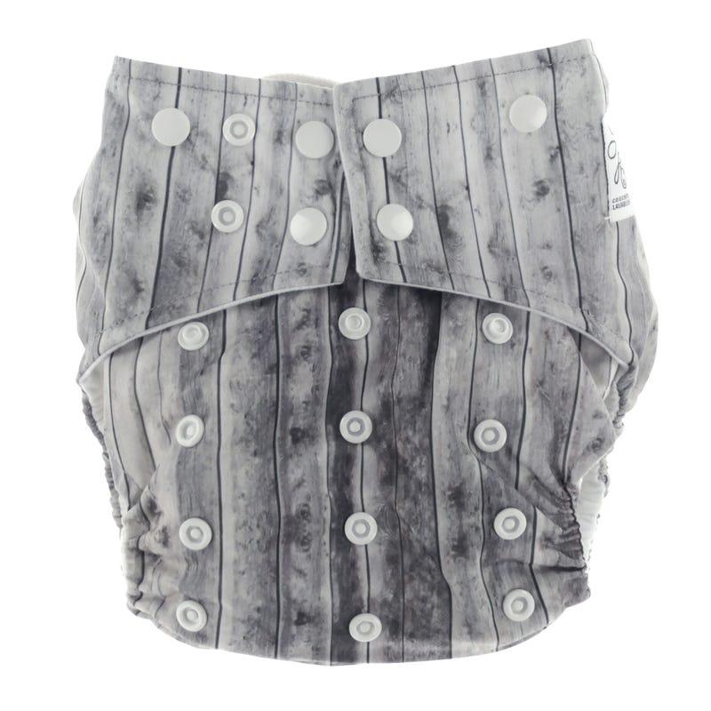 Cloth Diaper 10-35lbs - Wood